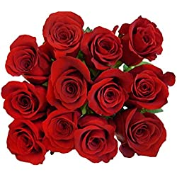 100 Fresh Red Roses | Valentine's Day