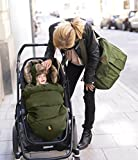 Cheap Warmest Water and Wind Resistant Baby Bunting – Warm Stroller Footmuff (Olive Green)