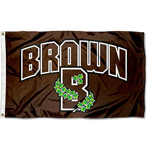 Brown Bears Athletic Logo Flag (Brown University Bears)