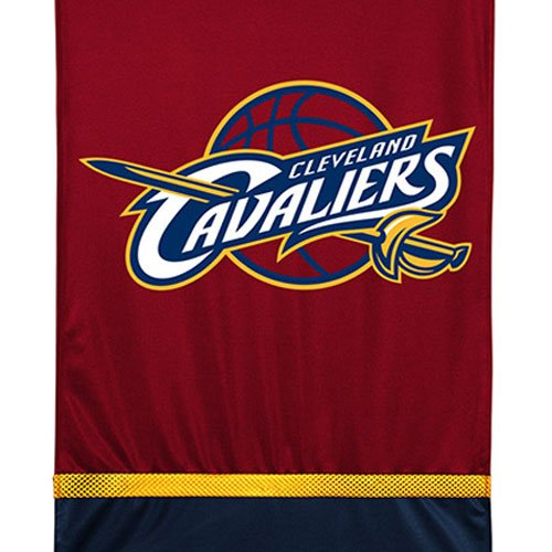 NBA Cleveland Cavaliers Wall Hanging Basketball Team Logo Tapestry Accent (Team Logo Wall Hanging)