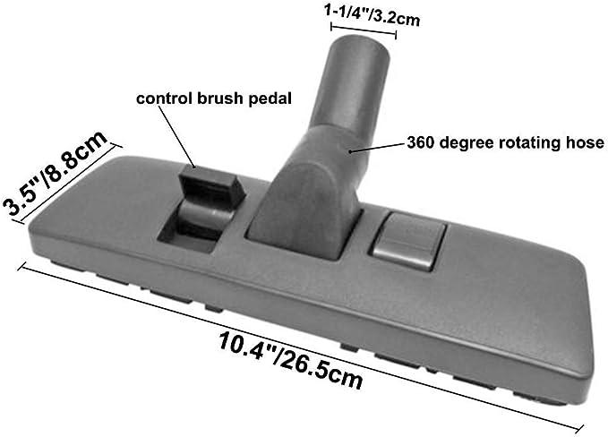 brosses Tuyau de 35mm,r/égler la t/ête de Brosse Tapis//Sol Convient /à la Plupart des Accessoires aspirateur Eagles Accessoires aspirateurs