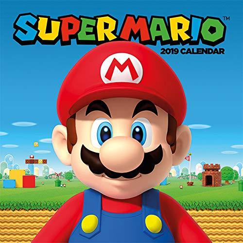 Calendario 2019 con Licencia Oficial de Super Mario