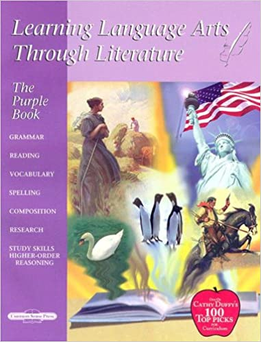 Learning Language Arts Through Literature: The Purple Book (5th ...
