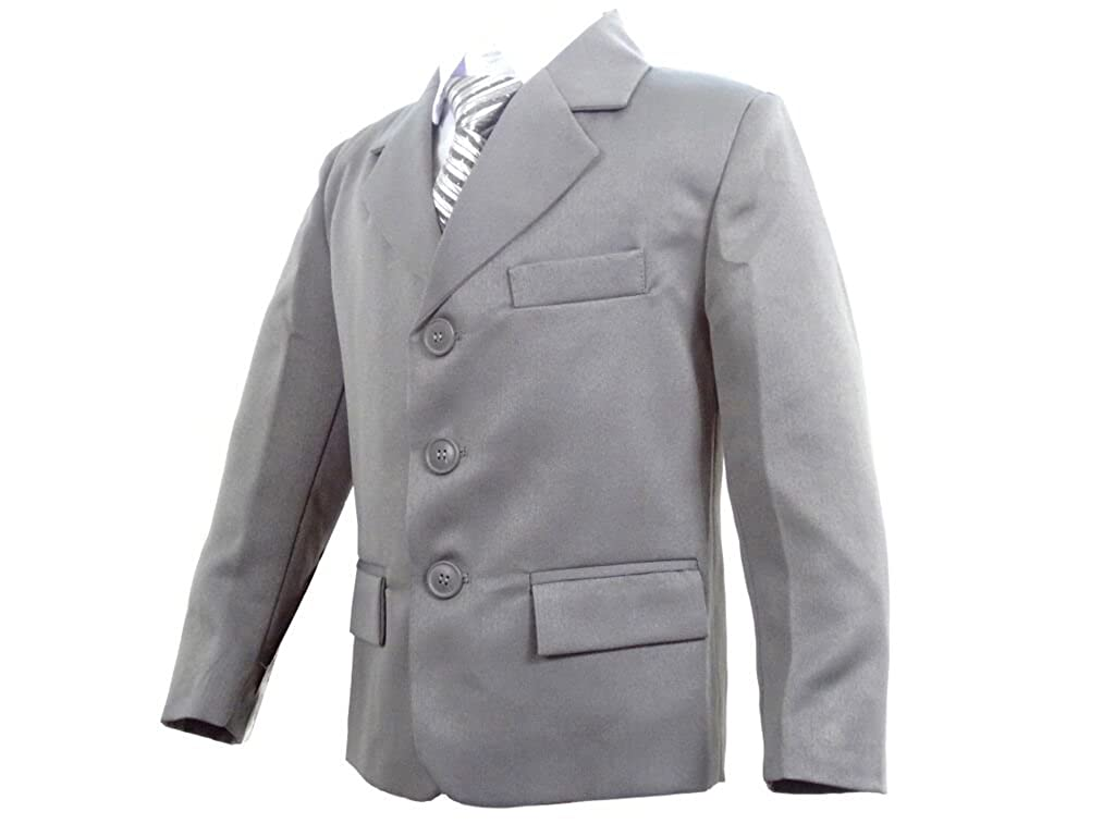Boys Wedding Grey Suit, Proms, Cruises & Party's 6 months - 14 years
