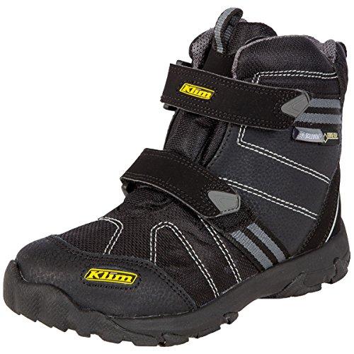 Klim Klimate GTX Youth Snocross Snowmobile Boots - Black / Size 2