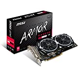 MSI GAMING Radeon RX 480 GDDR5 4GB CrossFire VR Ready FinFET DirectX 12 Graphics Card (RX 480 ARMOR 4G OC)
