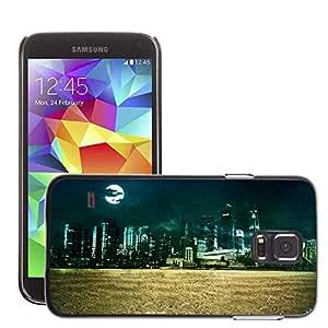 Super Stellar Slim PC Hard Case Cover Skin Armor Shell Protection // M00049804 creative city aero // Samsung Galaxy S5 i9600