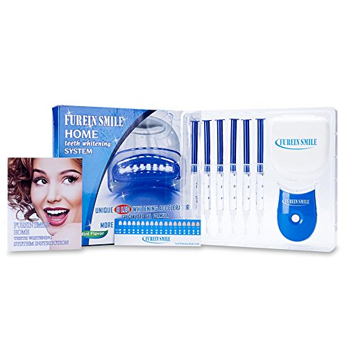 Price comparison product image Furein Smile Teeth Whitening Kit Professional Teeth Whitening Products for Home use (Blue)