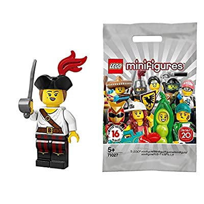 LEGO Series 20 Minifigures Pirate Girl 71027: Toys & Games