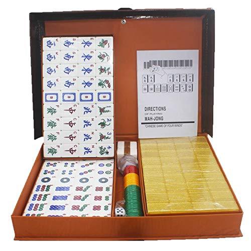 Juegos de Mesa Mahjong Inglés Mano Frotar Mahjong Marca Casa ...