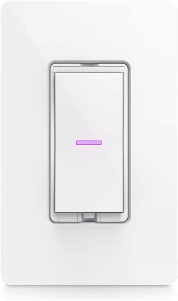 iDevices Dimmer Switch - Wi-Fi enabled smart dimmer switch; Works with Alexa, Siri, the Google Assistant; Single pole, 3- & 4-way