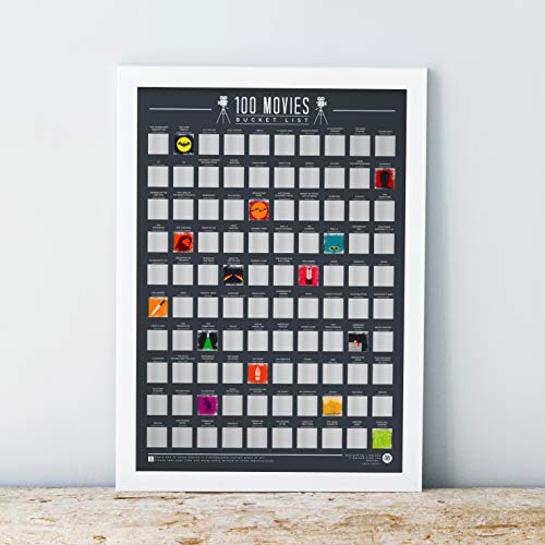 Gift Republic (GR630004) Bucket List Poster 100 Movies ()