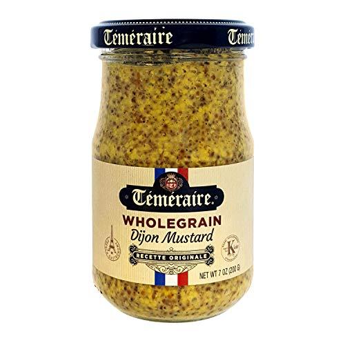 Whole Grain Mustard - 7 Oz - Kosher