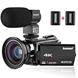 Best Video Camera 4ks - Kenuo 4K Camcorder, 48MP Portable Ultra-HD 30FPS WiFi Review