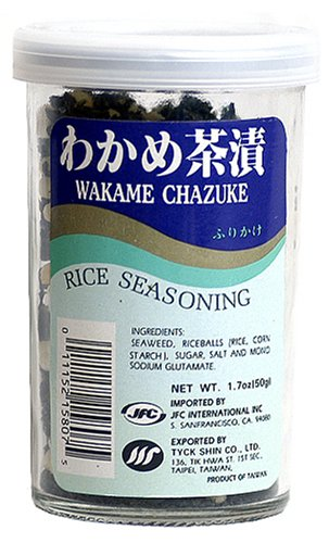 JFC Wakame Chazuke Rice Seasoning, 1.7-Ounce Bottle (Pack of 4) by JFC (Image #1)
