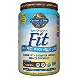 Garden of Life Organic Meal Replacement - Raw Organic Fit Vegan Nutritional Shake for Weight Loss, Chocolate, 32.5oz (922g) Powder
