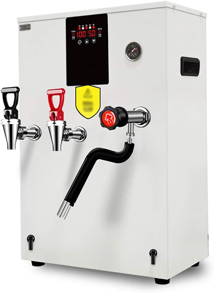 BLLXMX Calentador de Acero Inoxidable: dispensador de Agua fría y Caliente, Caldera de Agua Comercial escalonada, Espuma Aislante para Tiendas de té con Leche, cafés, té