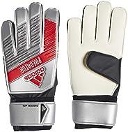 adidas DY2606 Top Training Gloves 7.5, Silver Metallic/Black