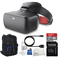 DJI Goggles FPV Headset (Racing Edition) Bundle with Soft Padded Backpack