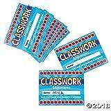 60 Classwork Punch Cards~Classroom/Teacher Supplies~Student Incentives