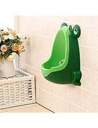 Frog Children Potty Toilet Training Kid Urinal for Boy Pee Trainer Bathroom Green