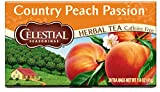 Celestial Seasonings Country Peach Passion Herbal Tea, 20 Count (Pack of 6)