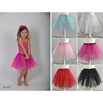 Falda Tul modelo Glitter Star, color au choix rojo rojo Talla ...