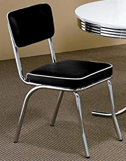 retro style chairs set of 4 - Chrome Kitchen Table