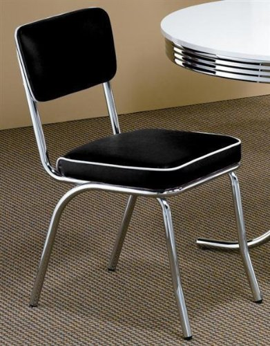 amazon com retro style chairs set of 4 chairs
