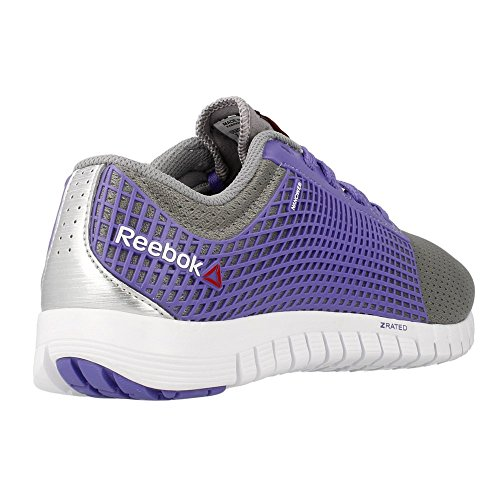 Reebok - Zquick - V60319 - Color: Gris-Violeta - Size: 40.5