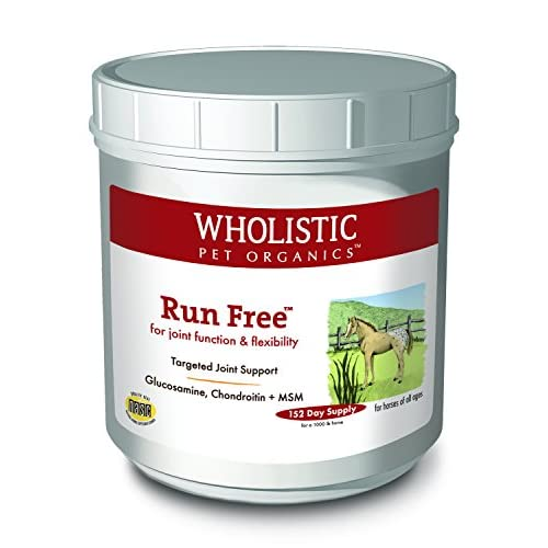 Wholistic Pet Organics Run Free Supplement, 4 lb