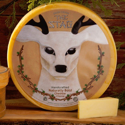 igourmet The Stag - Handcrafted Bold Cheddar by Deer Creek (7.5 ounce)