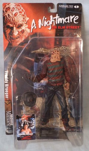 McFarlane - Movie Maniacs - Series 4 - A Nightmare on Elm Street - Freddy Krueger - 2nd Edition Feature Film Figure w/custom accessories by McFarlane Toys by Unknown ()