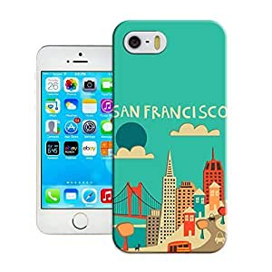 San Francisco Skyline (Blue Version) famous art pattern fashion iPhone6 case 4.7 inches protection case for sale by Haoyucase Store hjbrhga1544