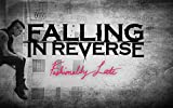 Falling In Reverse Fabric Cloth Rolled Wall Poster Print -- Size: (40