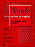 Words for Students of English : A Vocabulary Series for ESL, Rogerson, Holly D. and Esarey, Gary, 0472083643