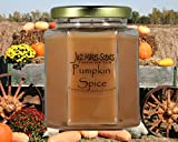 Pumpkin Spice Scented Blended Soy Candle   Great Smelling Fall Fragrance   Hand Poured in the USA by Just Makes Scents