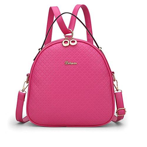 Size Bag Plastic Shoulder Valin Womens One Rose wAxXaFZ