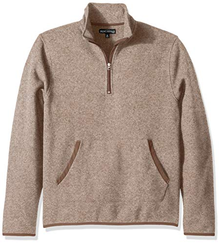 Used, J.Crew Mercantile Men's Fleece Half-Zip Pullover, Heather for sale  Delivered anywhere in USA