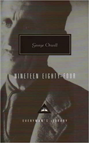 Nineteen Eighty Four          IMDb     in the UK a series of new covers for five works by George Orwell  including a particularly bold cover design for Orwell     s best known work