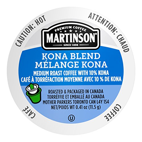 Martinson Kona Blend Coffee 24 Single Serve RealCups Only $7.80