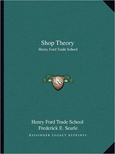 Shop Theory Henry Ford Trade School Henry Ford Trade School