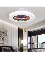 Nieuwe fan ultra-stil onzichtbare plafondventilator licht met afstandsbediening ventilator licht woonkamer slaapkamer kinderkamer restaurant huis eenvoudige moderne ventilator licht 58 cm