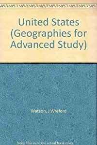 Paperback The United States (Geographies for Advanced Study) Book
