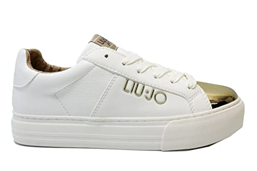 Liu Jo Girl UM23266 Nero Sneakers Scarpe Donna Bambina Calzature Comode (35 88f900bc4ca