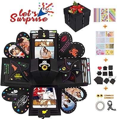 Qhui Creative Explosion Box, DIY Sorpresa Box, Caja de ...
