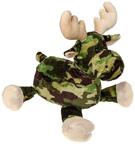 Mary Meyer Green Camo Moose Plush Toy