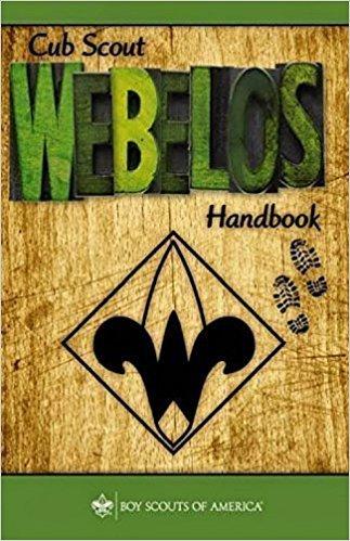Cub Scout Webelos Handbook - Perfect Bound (Arrow Of Light)