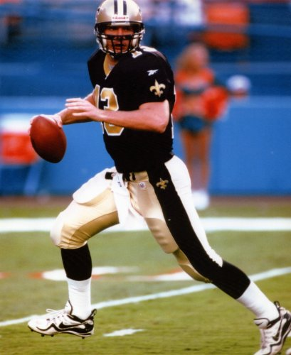 Collins Photograph Kerry - KERRY COLLINS NEW ORLEANS SAINTS 8X10 SPORTS ACTION PHOTO (K)