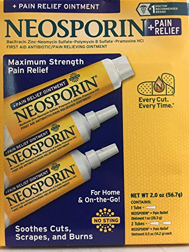 (Neosporin Pain Relief Ointment Maximum Strength 2 oz)